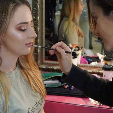 Makeup course for beginners / Students work